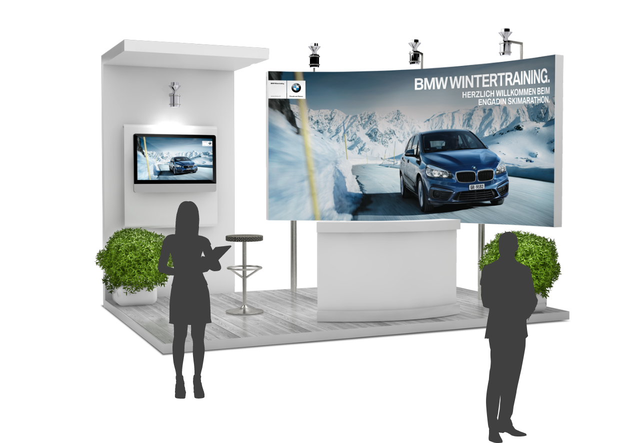 BMW Messestand